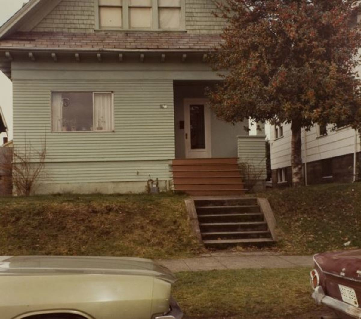 The home at 5517 12th Street NE in Seattle, where Lynda Healy resided with her roommates.