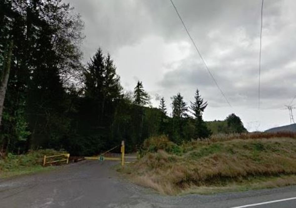 Entrance to Taylor Mountain Forest in eastern King County.