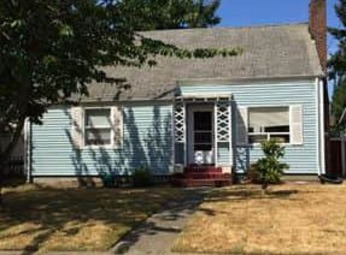 Ted Bundy's childhood home in the state of Washington.