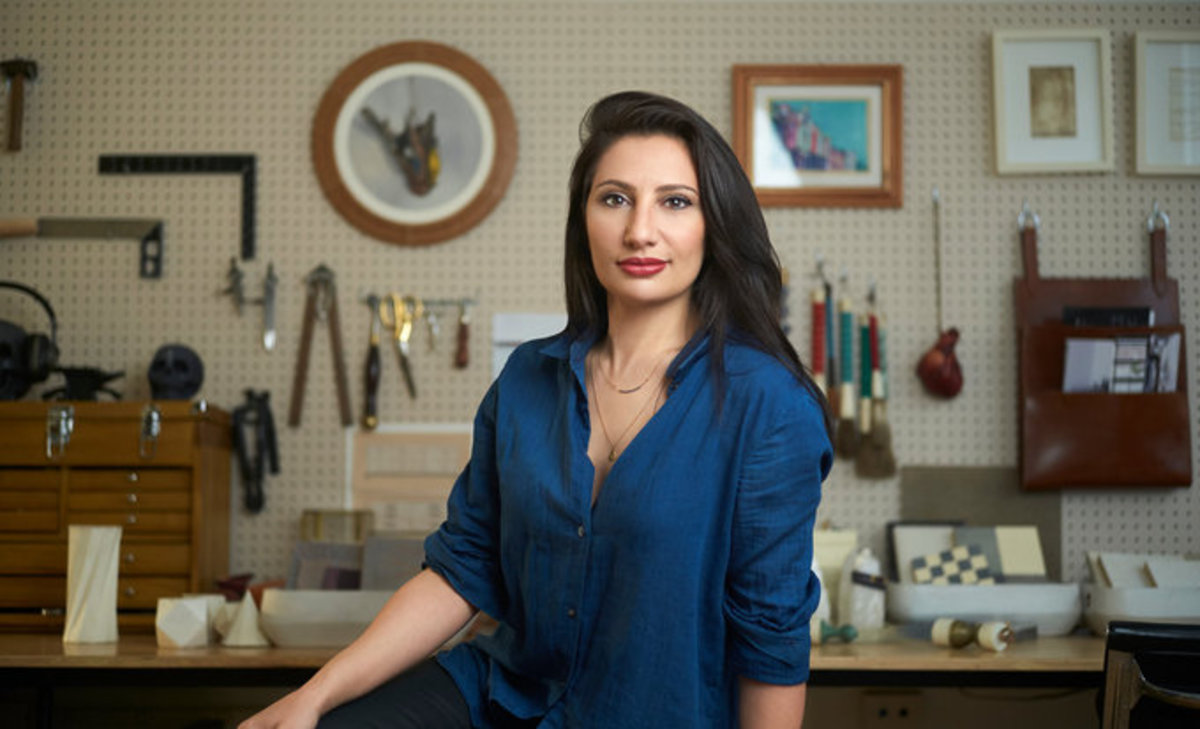 Christina Antonio, a designer and Entrepreneur specializing in leather, got her green card through EB1. She now runs a successful fashion line.