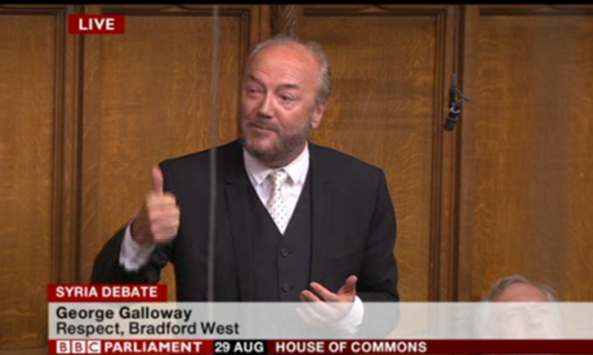 George Galloway MP for Bradford West