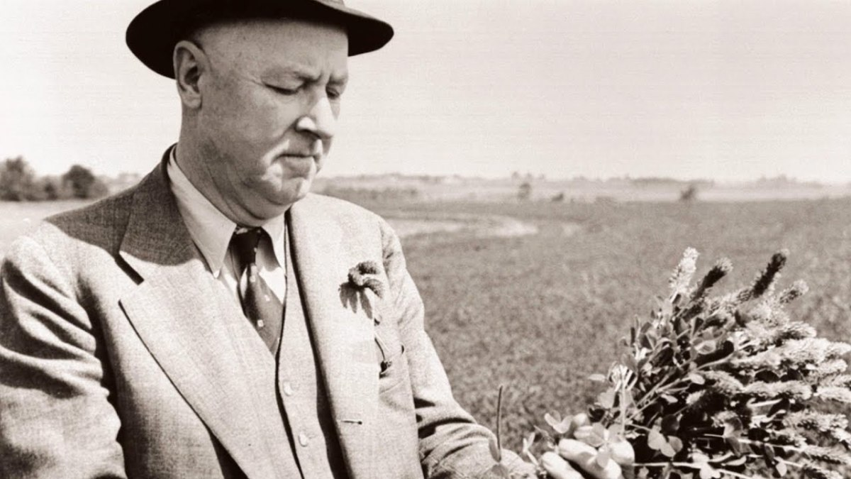 Today, Hugh Hammond Bennett is highly regarded as the father of soil conservation.
