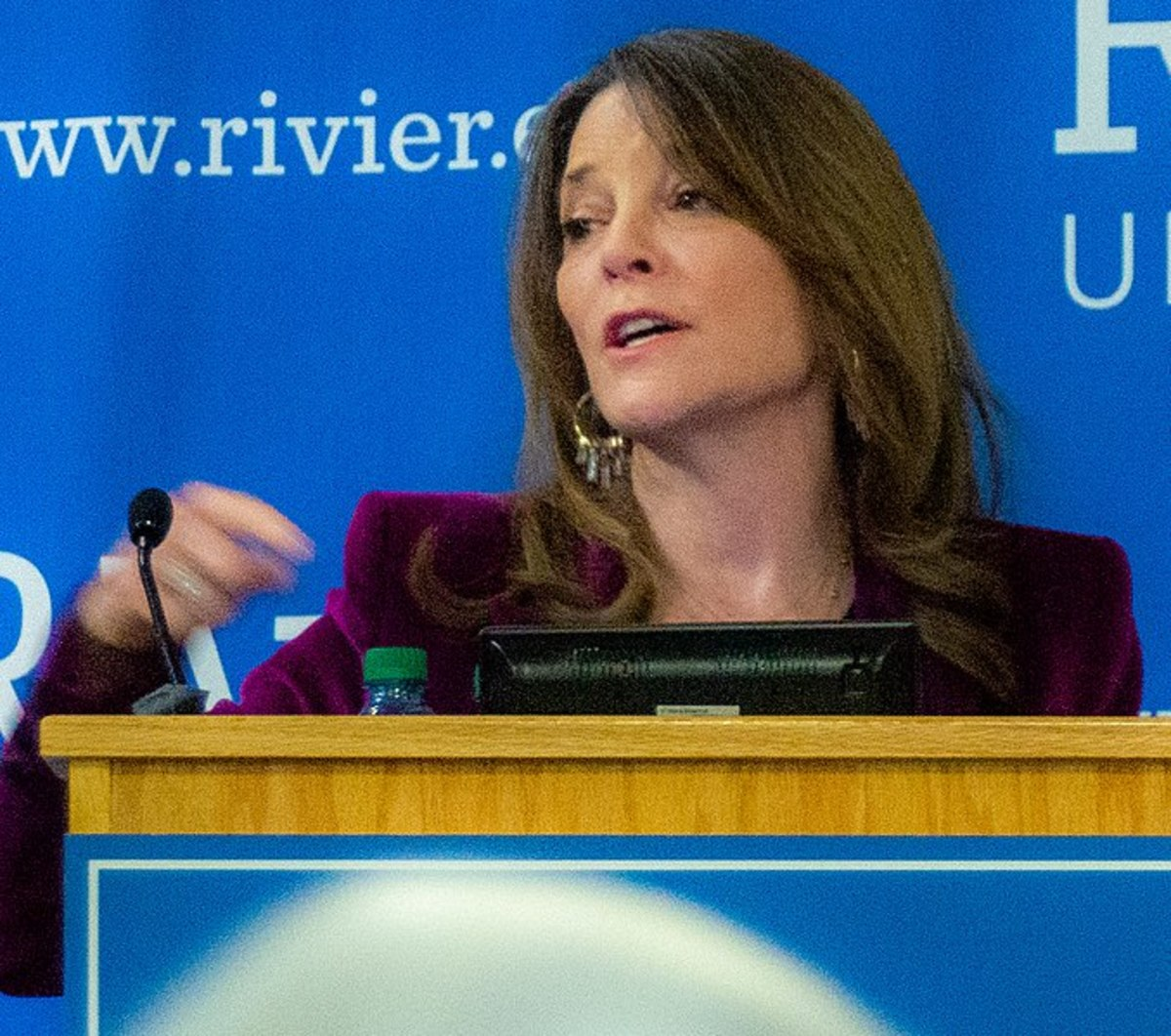 Marianne Williamson is 67 years old, a Texas native, and world famous author of metaphysical books.