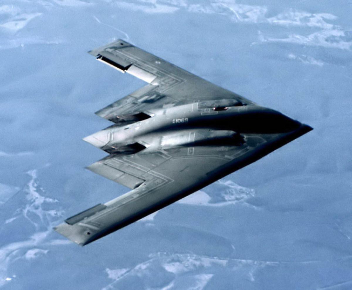 B2 Stealth Bomber military plane