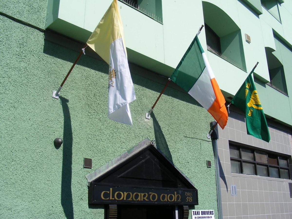 Clonard AOH club in West Belfast