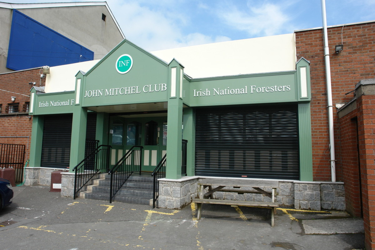 The INF club in William Street, Newry