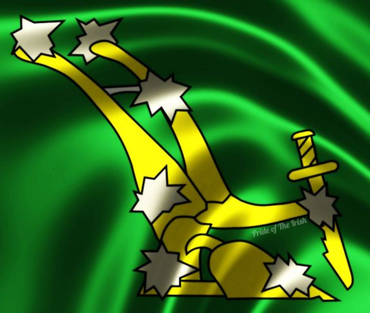 James Connolly's ICA's original 'Plough and Stars', a military standard of the workers militia