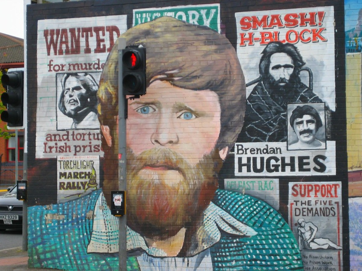 Mural of Brendan Hughes