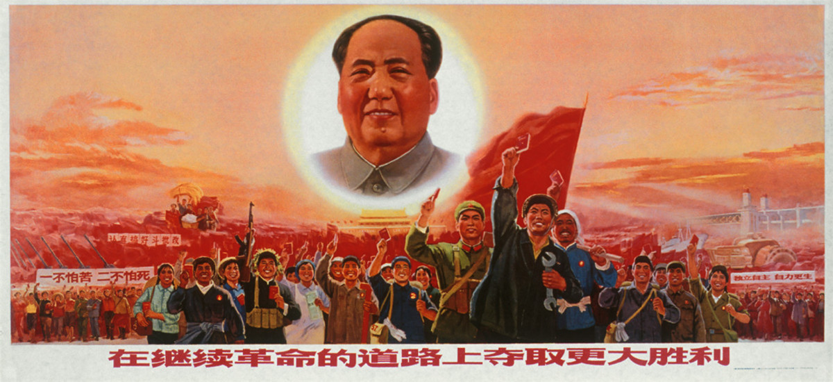 Propaganda for the failed Cultural Revolution