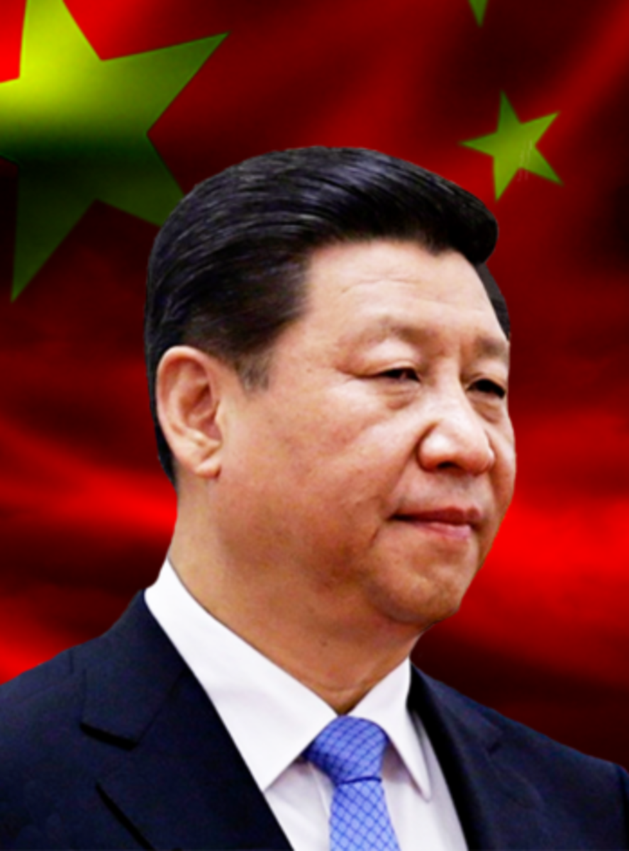 Picture of Xi Jinping (ca. 2016). Unknown photographer courtesy of Wikimedia Commons. Work in the public domain.