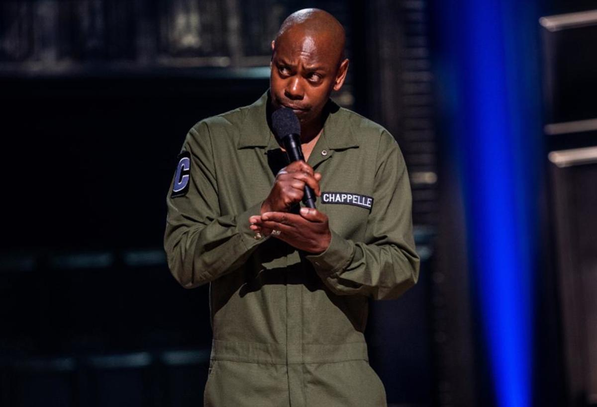 Courtesy of Netflix.  Dave Chappelle's recent show, Sticks and Stones drew the ire of many liberal groups for including them in his monologues: monologues that while insulting everybody, also directly included modern overreactions to current issues.