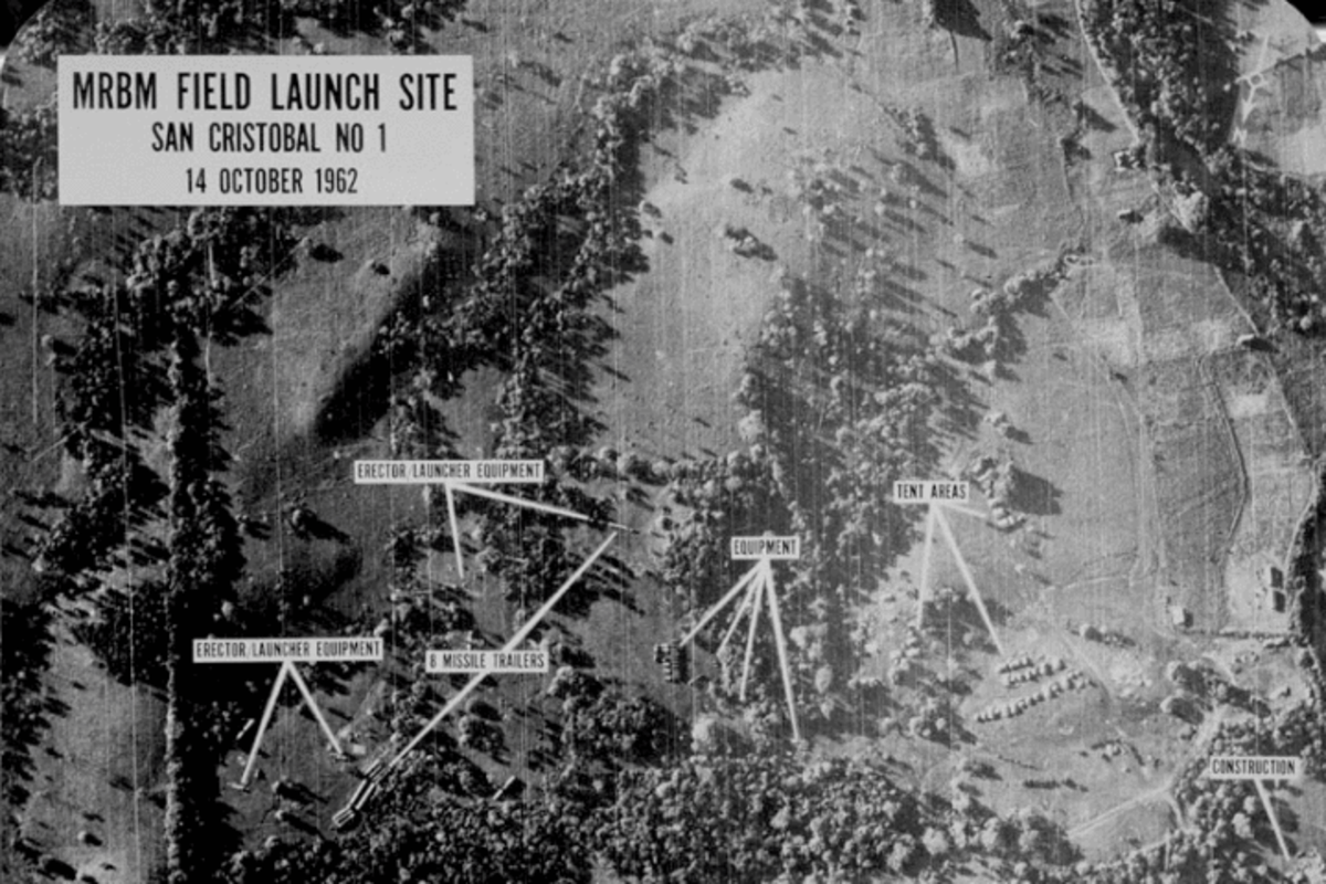 Courtesy of the National Archives.  The Cuban Missile Crisis of 1962 established the nations' fear of communism as a true threat and not an irrational fear.  Nuclear missile sites that close to the country gave no chance of warning.