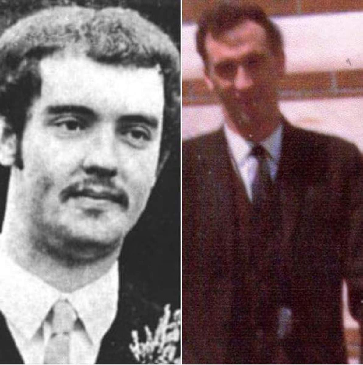 Ronnie Bunting and Noel Little, comrades assassinated by a pro-British death squad.