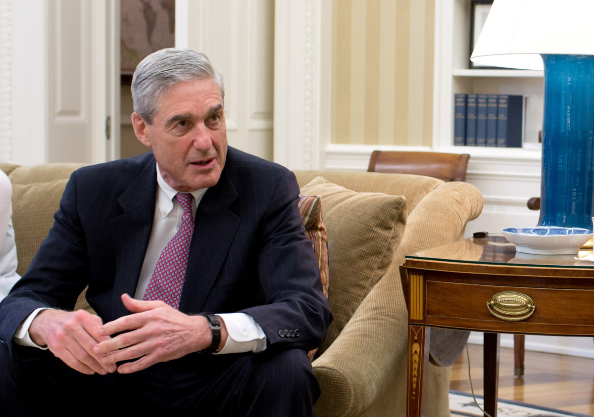 Robert Mueller's report cites many examples of Trump obstructing justice.