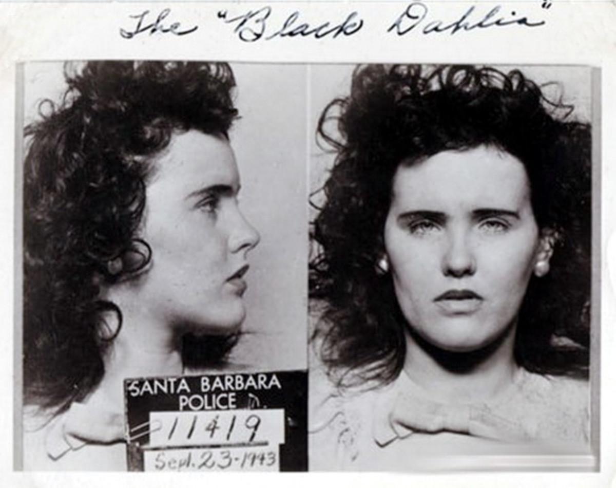 Mugshot when she was caught drinking underage.