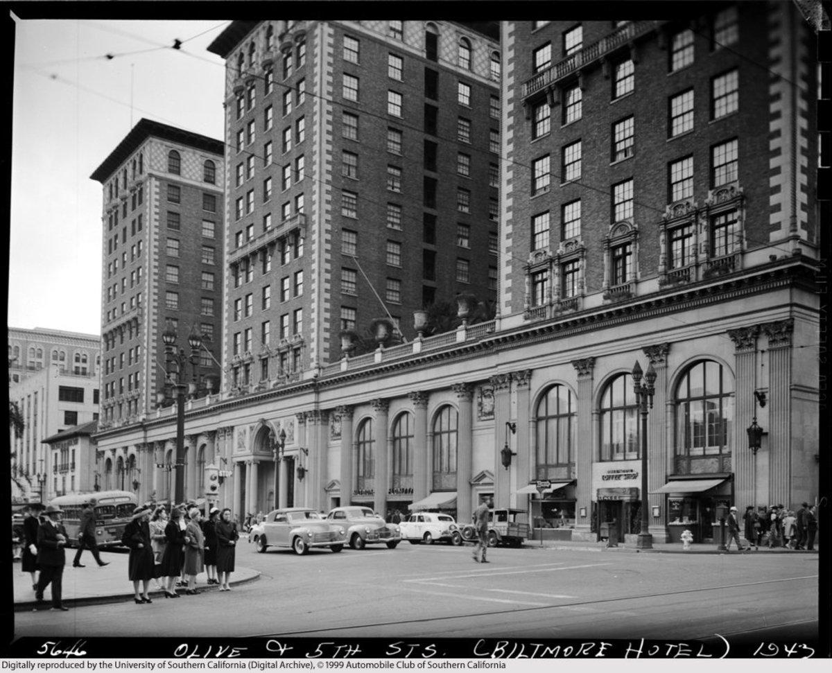 The Biltmore Hotel. Elizabeth was last seen alive in this building.
