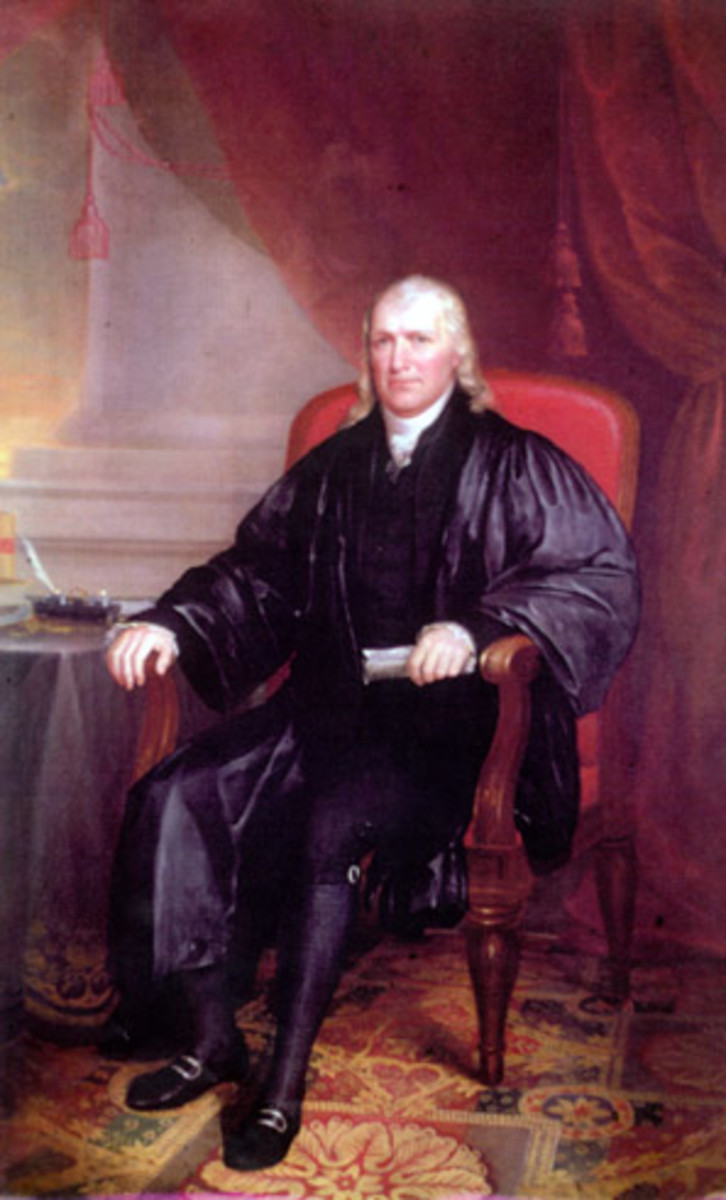 Supreme Court Justice Samuel Chase.