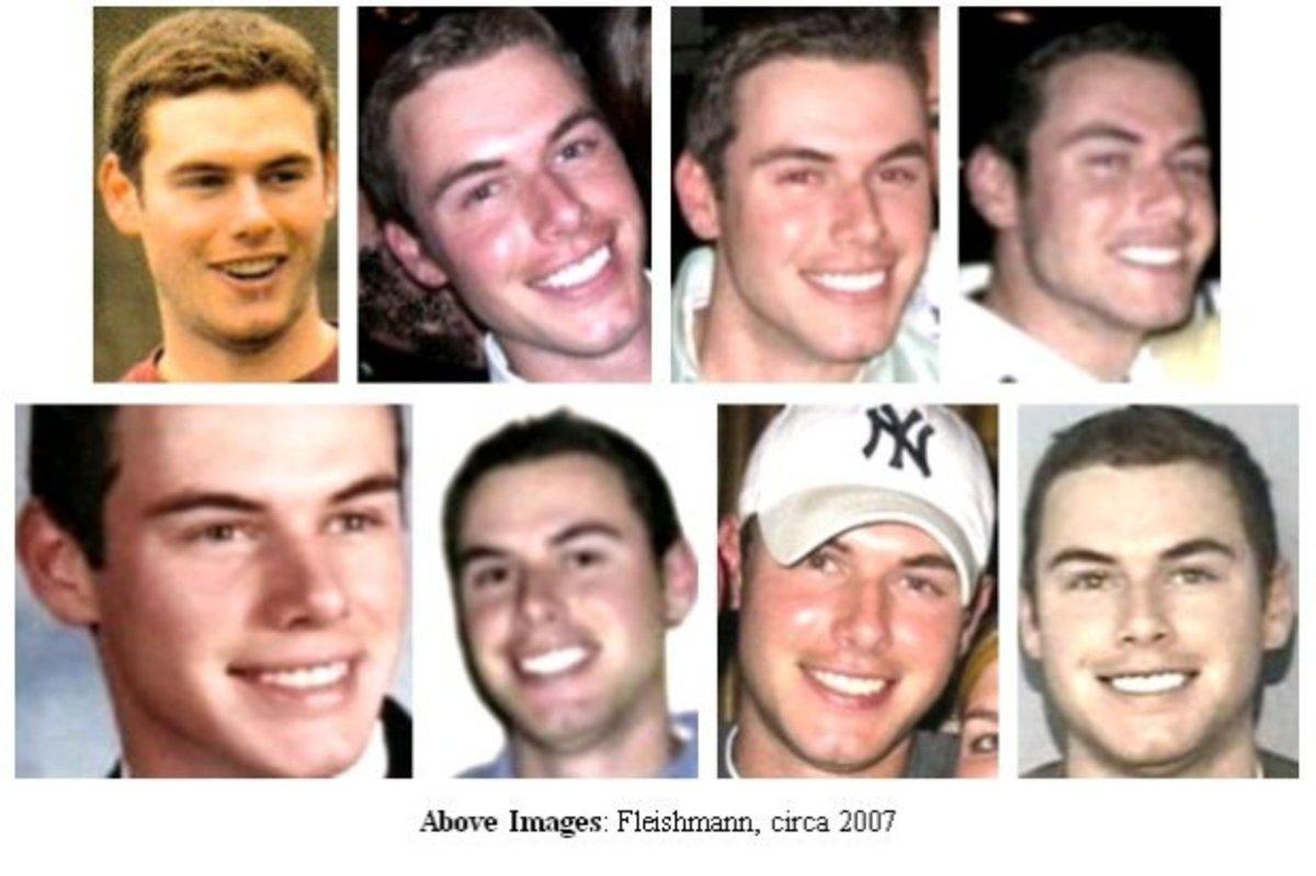 Multiple photos of Kyle Fleischmann