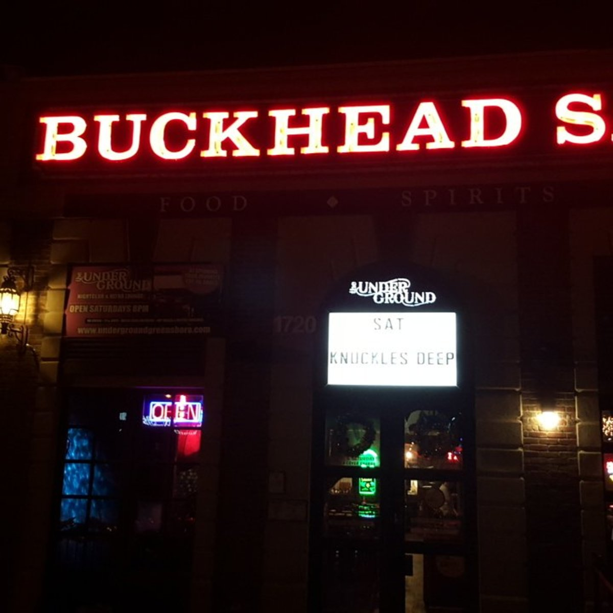 Buckhead's Saloon, Charlotte NC