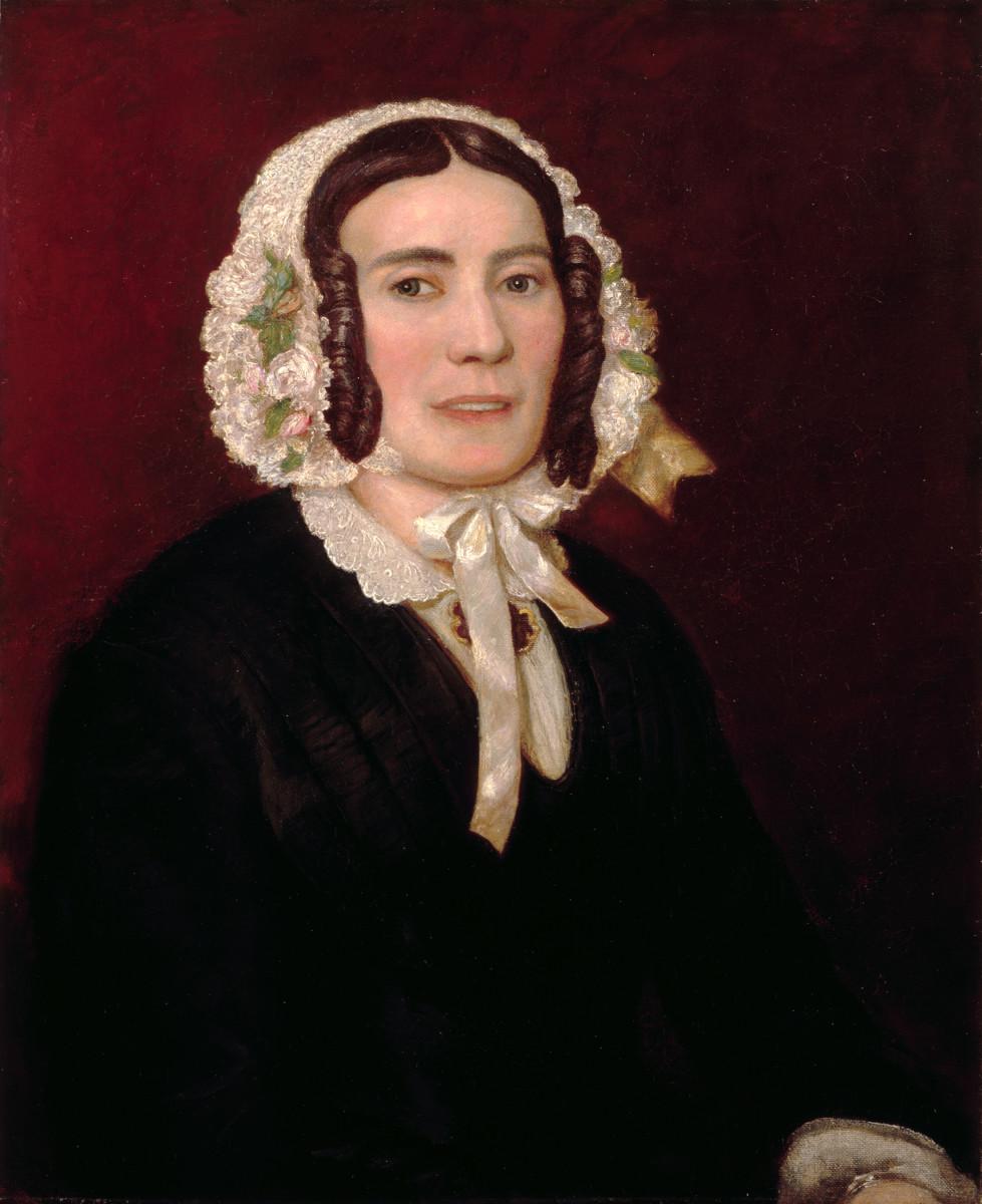 Portrait of Abigail Powers Fillmore.