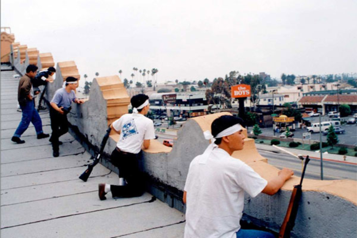 Koreatown shop owners, 1992 LA riots