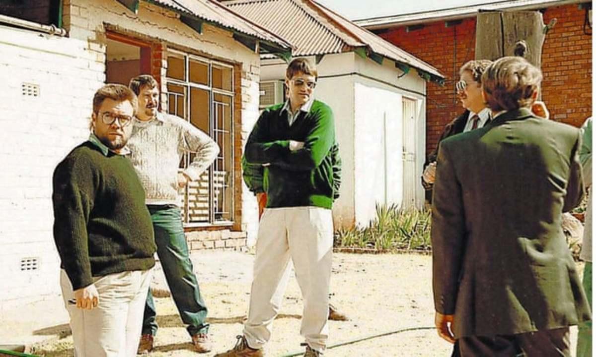Members of Apartheid South Africa's  Vlakplaas Unit death-squad