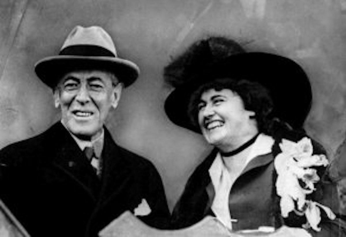 Woodrow Wilson & Wife