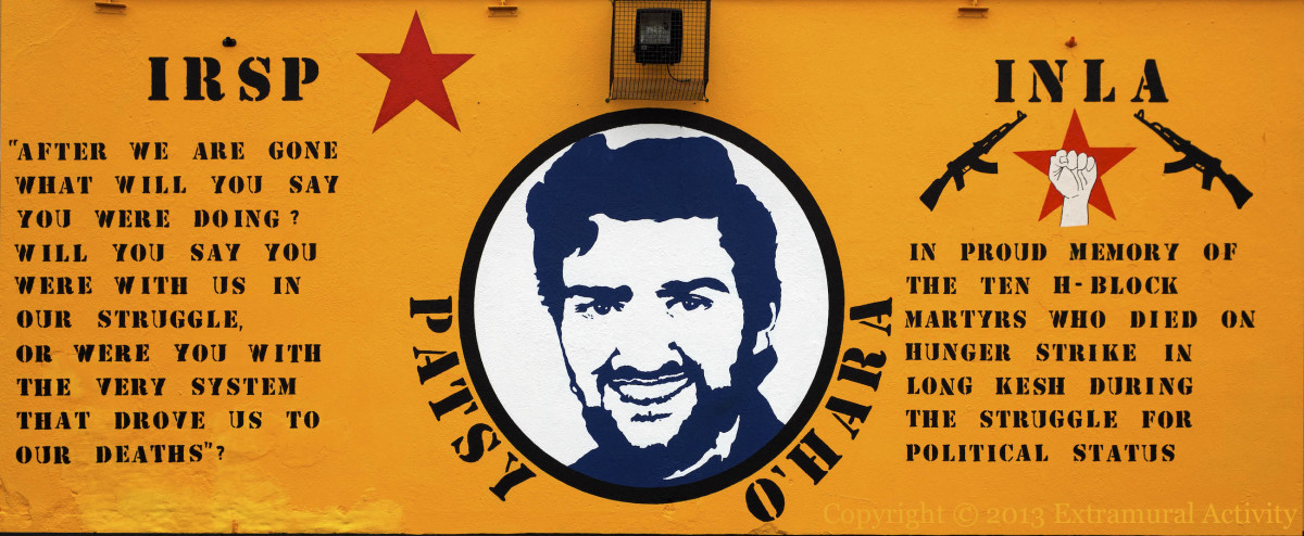 The prophetic words of INLA Hunger Striker Vol. Patsy O'Hara
