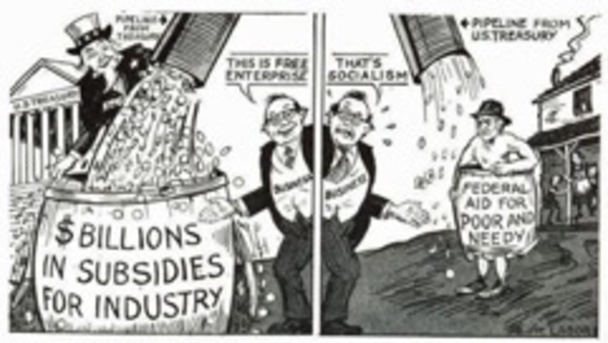 Welfare Inequality: The Rise of Corporate Welfare