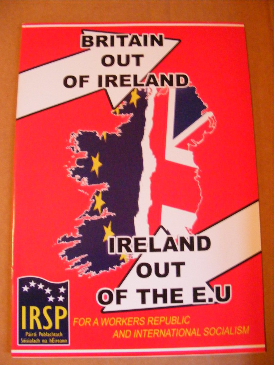 Britain Out Of Ireland, Ireland Out Of The EU