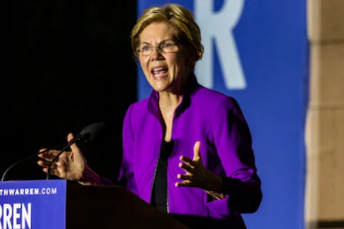 Elizabeth Warren is another prominent 2020 candidate in favor of a wealth tax