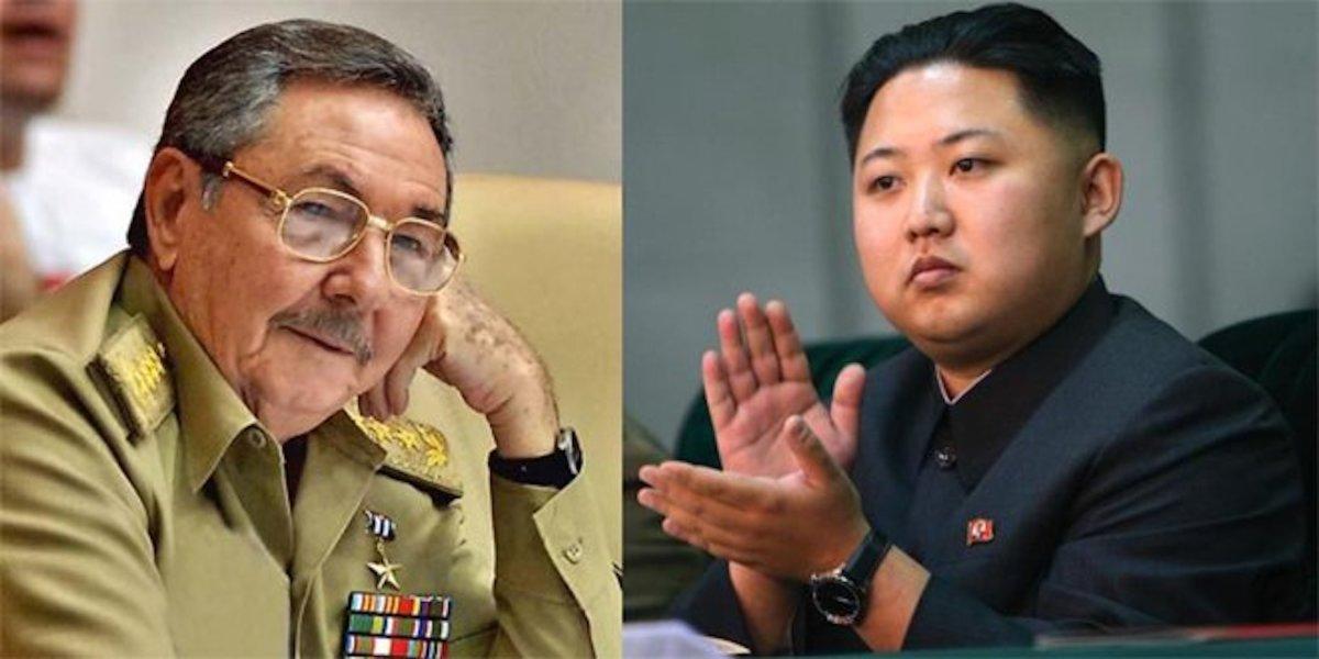 Non-democrats: Raúl Castro & Kim Jong-un