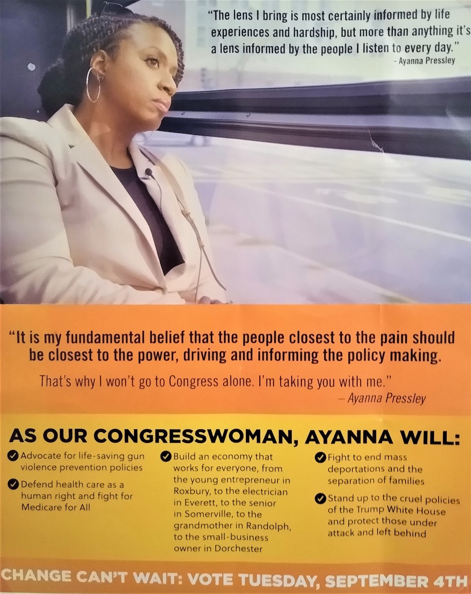 Poster of Ayanna Pressley