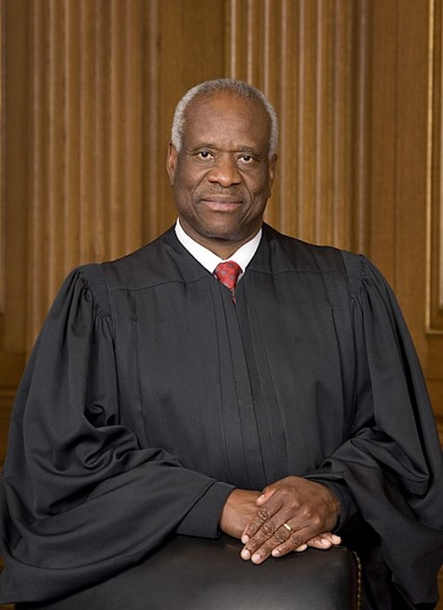 Senator Robert Byrd voted against Republican Justice Clarence Thomas for the Supreme Court