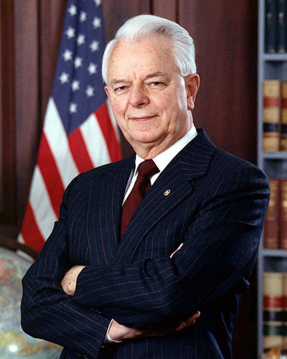 Senator Robert Byrd was the only senator to vote against confirmation to the Supreme Court of Justice Thurgood Marshall