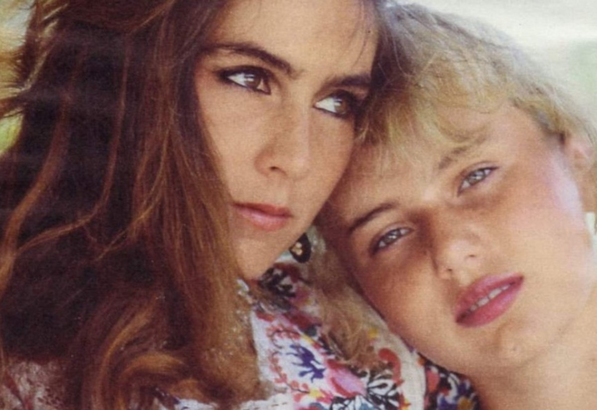 Romina Power and her daughter Ylenia.