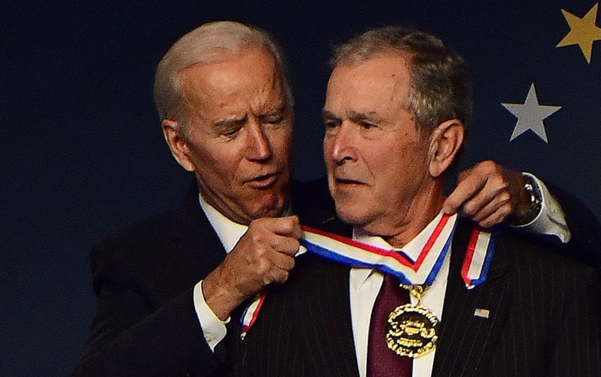 Joe Biden voted for the Iraq War and appeared to have no regrets in 2018.