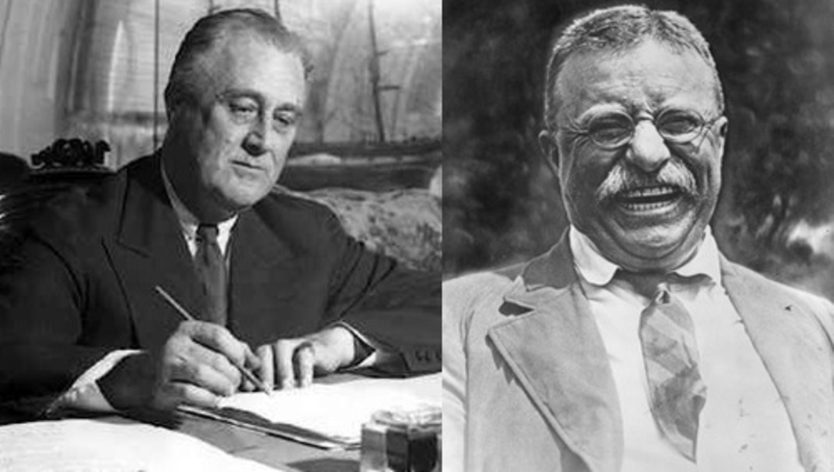 FDR and Teddy Roosevelt