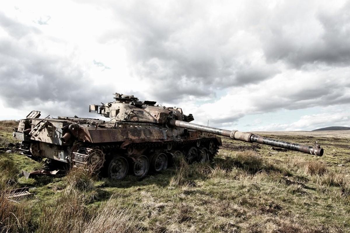 No tanks allowed.