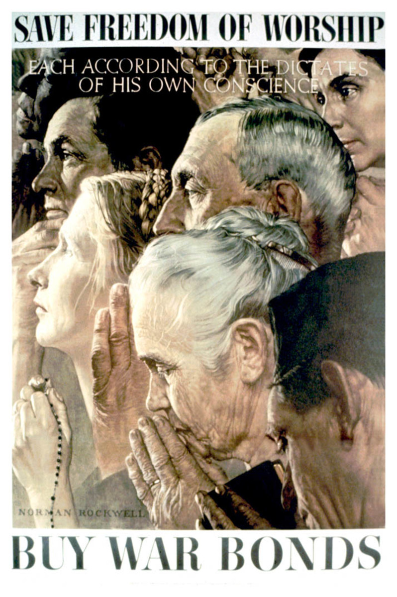 Poster art by Norman Rockwell (1943)