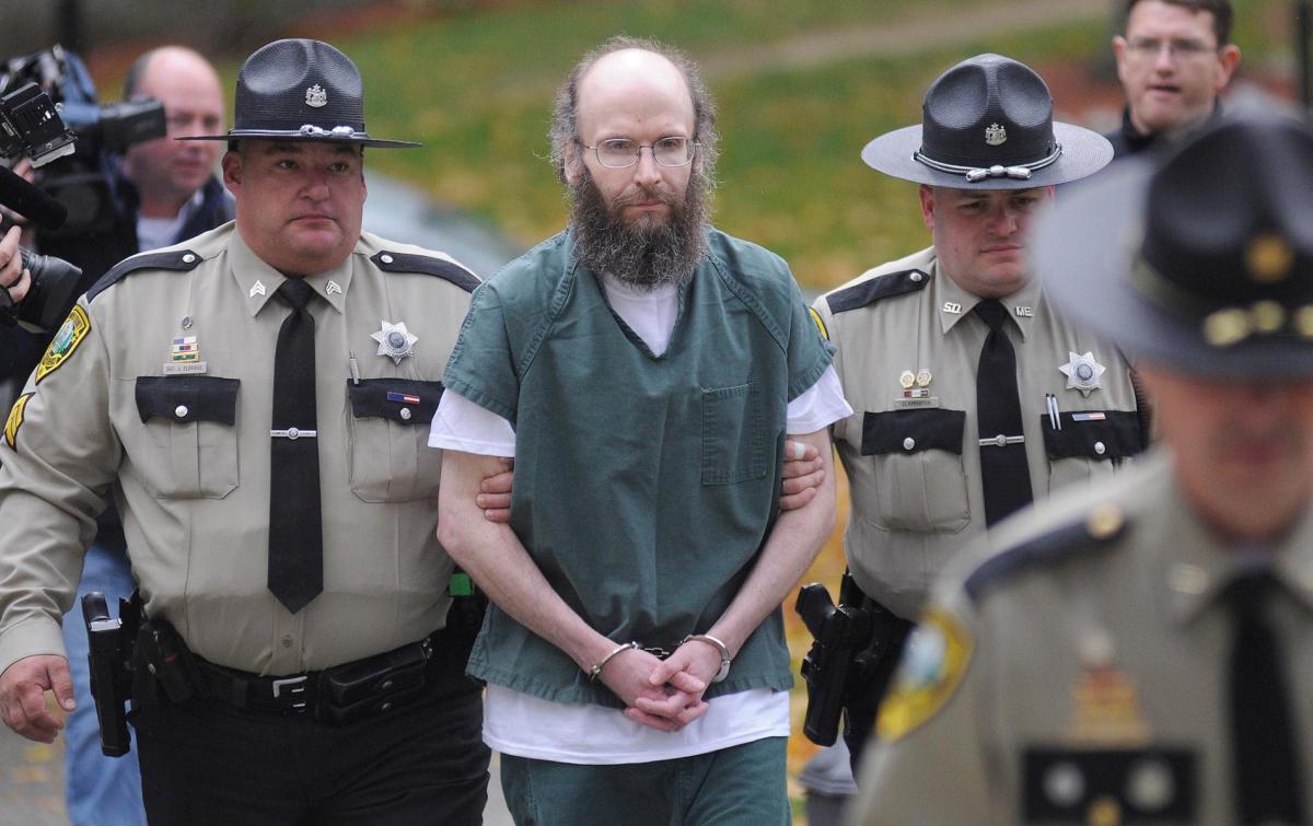 Christopher Knight after arrest