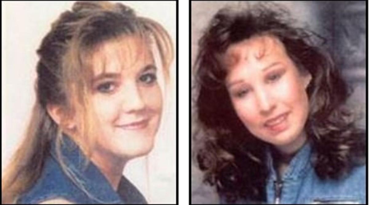 Jennifer Lueth (left), and Diana Shawcroft (right), who vanished May 26, 1996, from Glendale, Arizona.