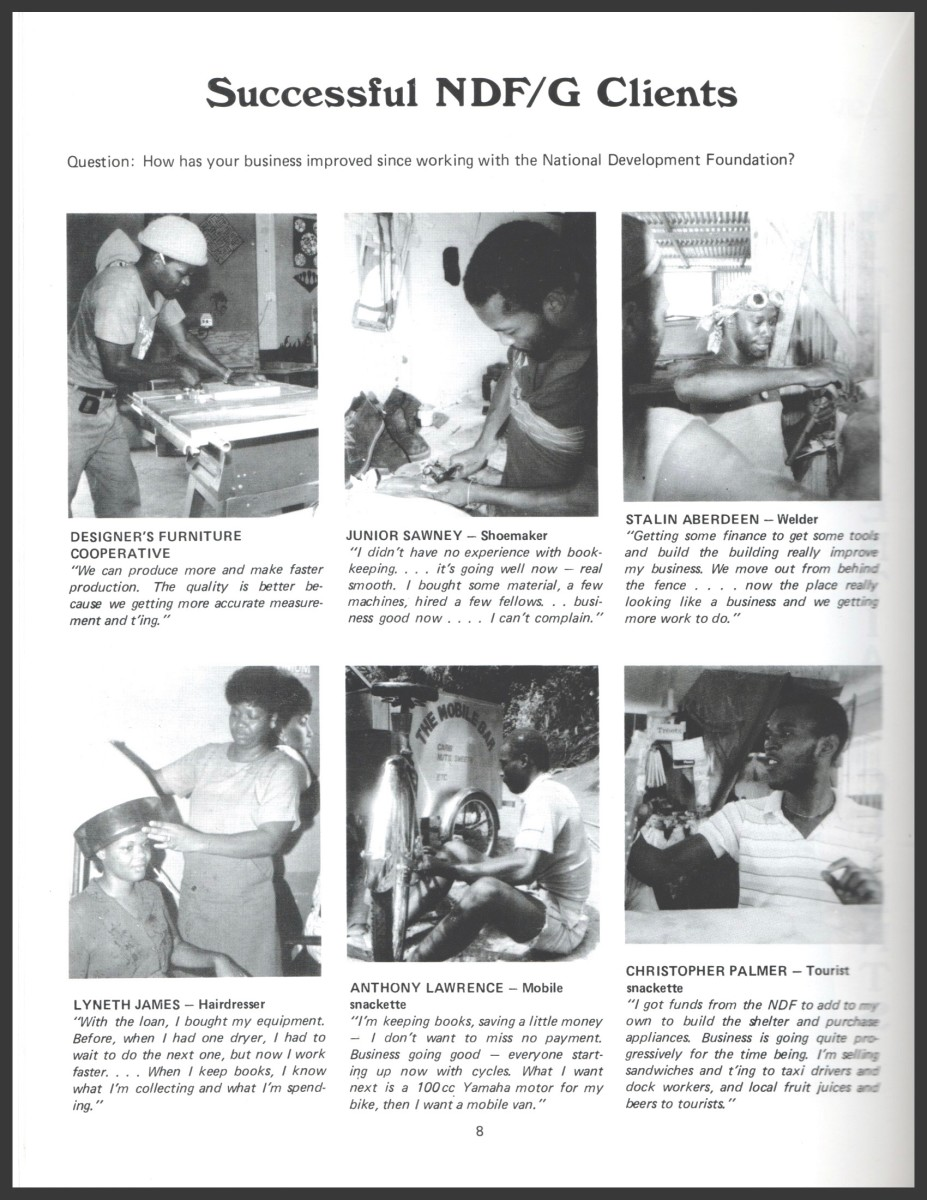 These were a few of our borrowers. The quotes included in the article were taken from this page.