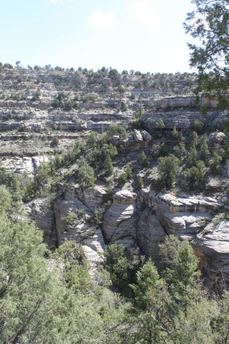 Walnut Canyon Wall