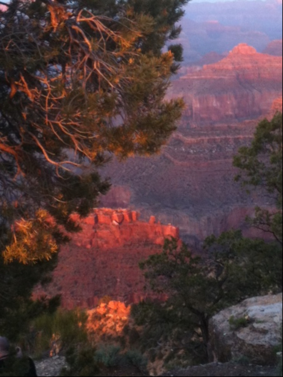 Sunset at Hopi Point, Grand Canyon