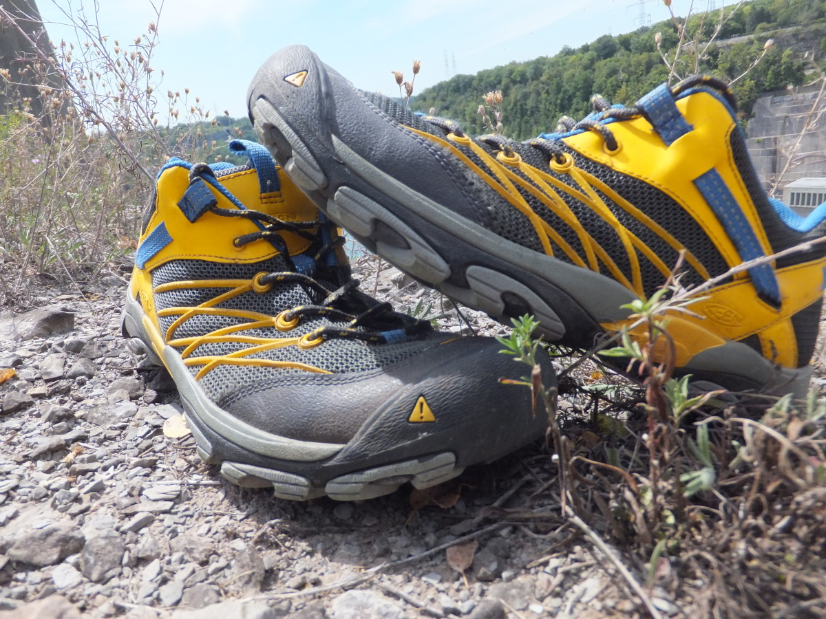 The Keen Marshall is a lightweight and breathable low hiking boot