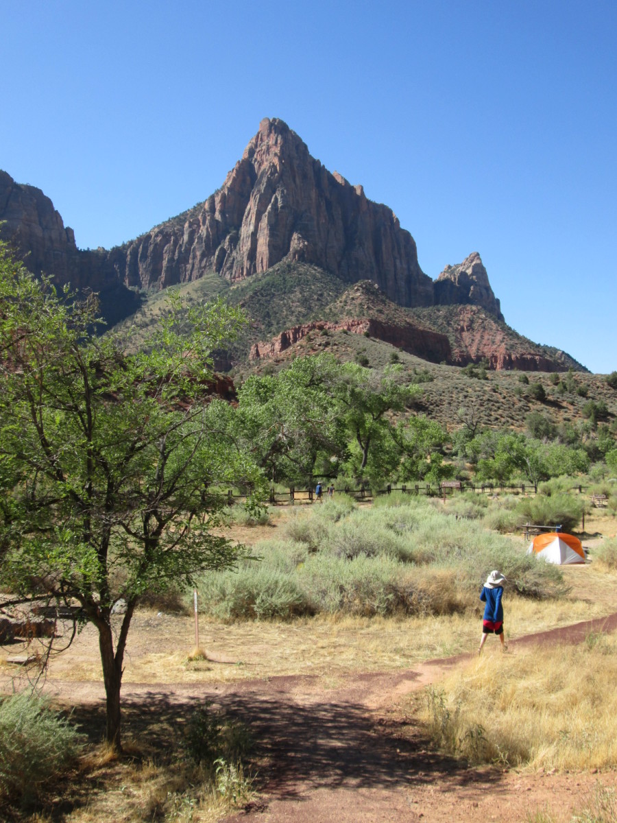 The Watchman from the Pa'rus Trail