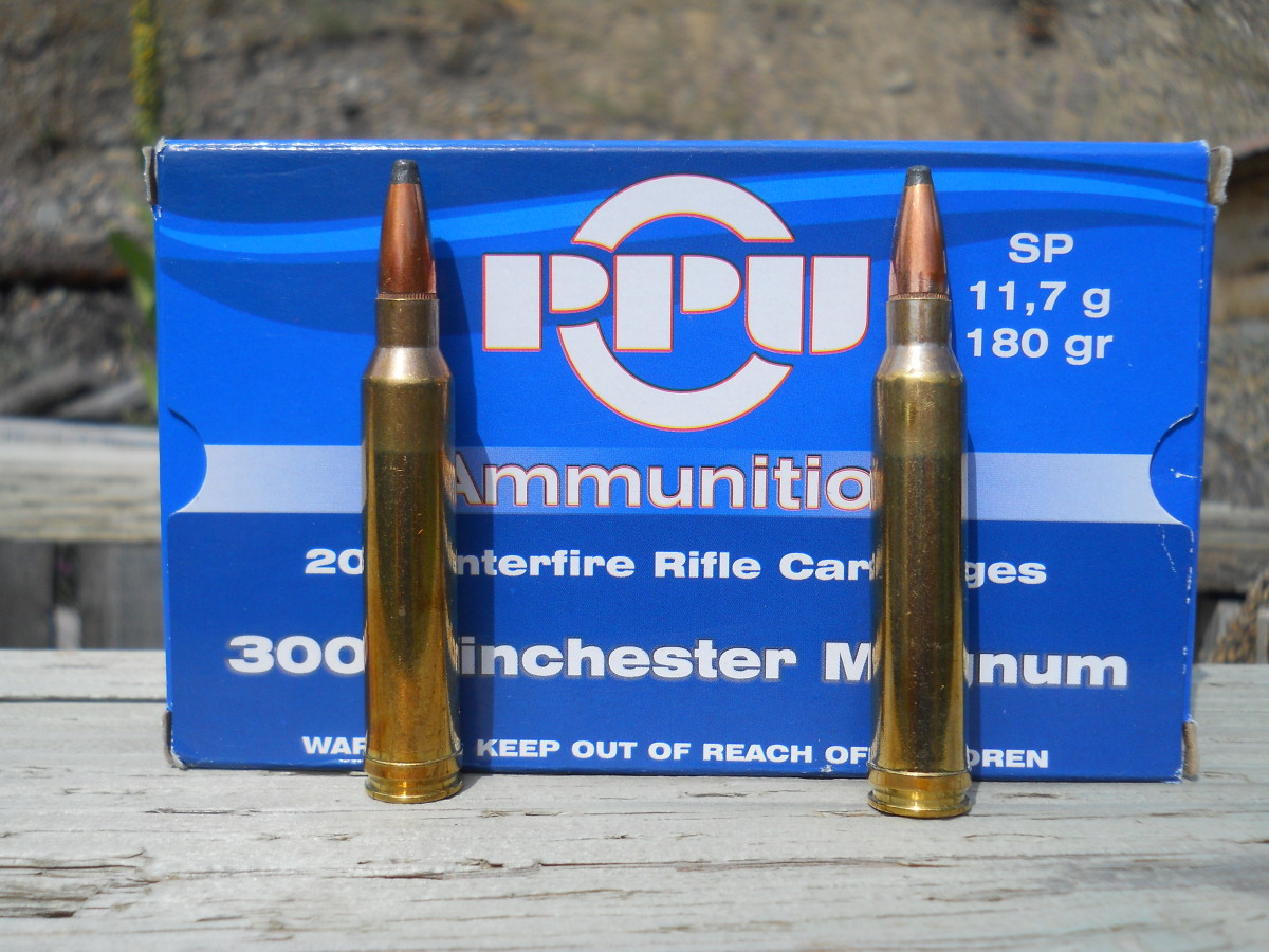180 grain bullets are the most versatile load for the .300 Win. Mag.