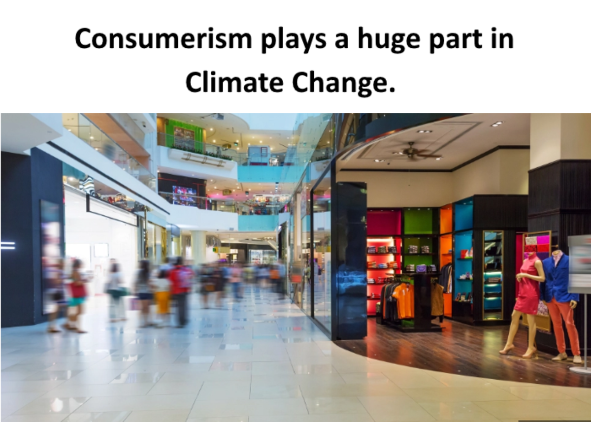 A new study published in the Journal of Industrial Ecology shows that the stuff we consume — from food to knick-knacks — is responsible for up to 60 percent of global greenhouse gas emissions and between 50 and 80 percent of total land, material, and