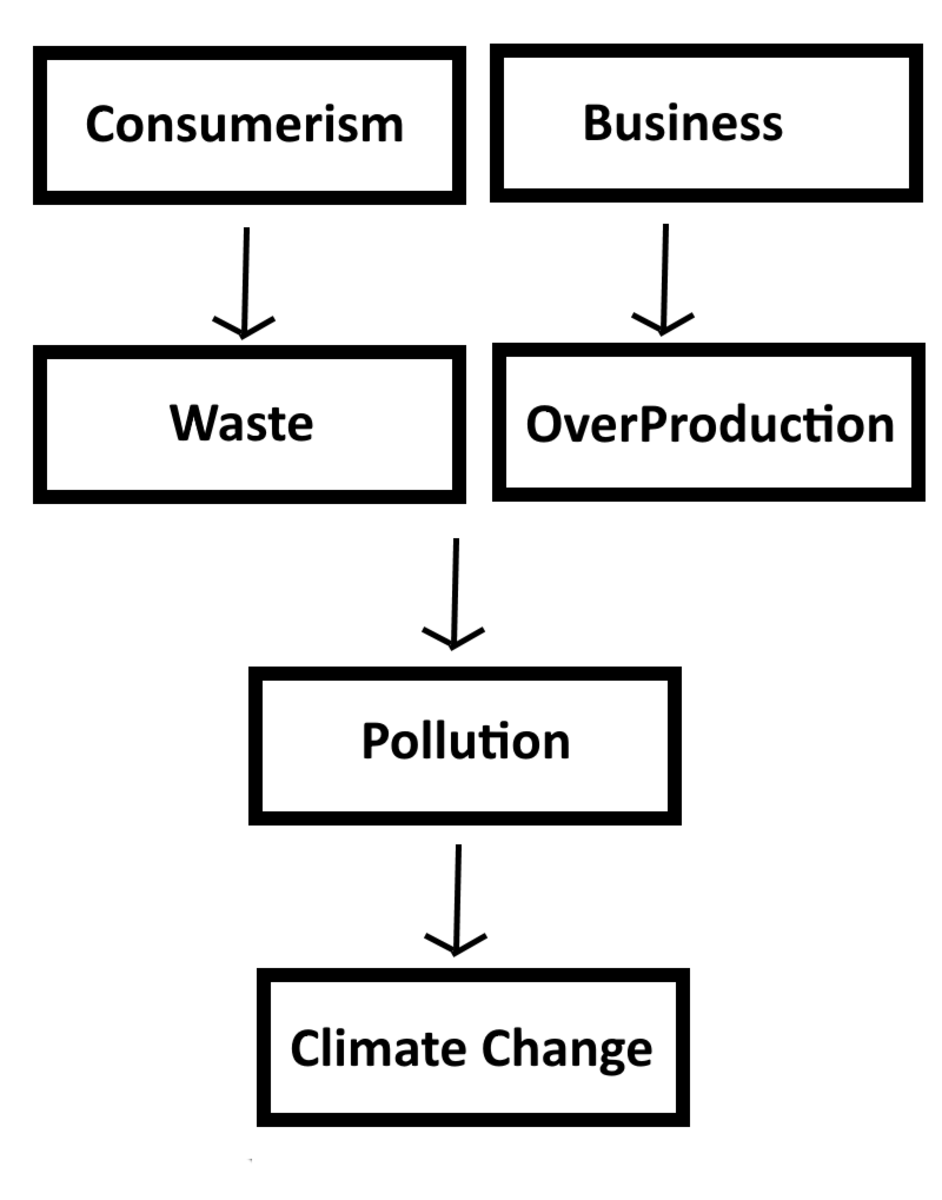 How Consumerism and Business lead to Climate Change.